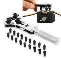 Wholesale Set Steel Watch Back Case Opener Battery Change Screw Tool Kit Remover