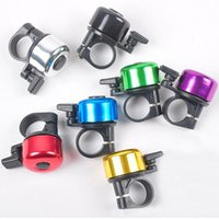 Wholesale 6pcs Luxury Alarm bike Horns Bicycle Ring Bell Sounds Cycling Sport Bike Rings Bells Aluminum bike rings final clear out