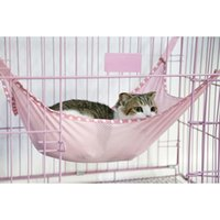 Wholesale Stylish High quality Summer Winter Dual Use Cat Bed Mat Breathable Ventilation Net Cloth Pet Cages Hammock Pet Supplies