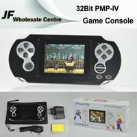 Wholesale PMP IV PMP4 Bit Inch LCD Screen TFT GB Handheld Game Console Pocket Video Game Player Portable System MP3 MP4 MP5 TV Out Media Player