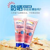 beach facial - BIOAQUA Winter Facial Sunscreen Lotion Skin Care Female Beach Water Body Sunscreen Isolation SPF30 PA Anti UV Men