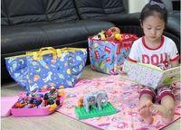 Wholesale Picnic Mat Large Size Baby Climbing Mats Children s Play Mats Portable Beach Mats Folded Small Cartoon Design