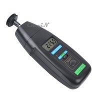 Wholesale Speed Detector Meter Mode Adjustable Tachometer Digital Optical Contact Tachometer Detector Meter ZSB03 order lt no tracking