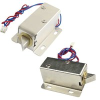 Wholesale Small DC V Open Frame Type Solenoid For Electric Door Lock B2C Shop