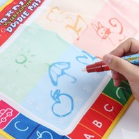 Wholesale X29cm CP1366 color Water Drawing Toys Mat Aquadoodle Mat Magic Pen Water Drawing board baby play mat TY162