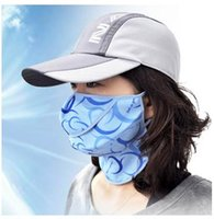 Wholesale Summer neck guard sun ultraviolet ray cycling air respirator masks large golf outdoor men and women