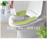 Cheap Deodorant Toilet Stickers Seat Convenient Stick-on Commode Cleaning Pad Cushion Toilet Seat Covers ( mix order 10 usd )