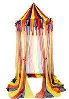 Wholesale nylon big top canopy tent kid play tent hanging circus canopy tent