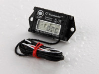 Wholesale China Factory Cheap Run Leader Tiny Tach Hour Meter Tachometer For Gasoline Engine Stroke Motorcycle ATV Boat