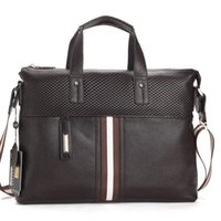 laptop name brand - 2013 men stylish handbags fashion genuine leather messenger bags brand name one shoulder bag casual business laptop bag