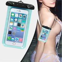 best clear iphone cases - New Gedgets Waterproof pouch For S6 iPhone Waterproof bag Universal Clear Best Transparent Swim Diving Case Cover For Galaxy S6