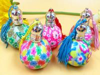 Wholesale 200Pcs Large Size Mini ML Refillable Bottles Glass Empty Perfume Bottle Ball Perfume Essential Oil Bottle