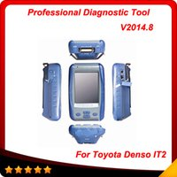 Cheap Newest for TOYOTA Intelligent Tester IT2 Update to 2015.08 for Toyota denso it2 Super scanner free shipping