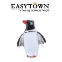 Wholesale 2016 penguin animal charms new hot sale floating locket charm fits floating lockets