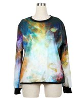 Cheap Hot 2014 fashion Women Men space Stitching Sprite coke Pullovers 3D Sweatshirts Hoodies shirts sweat suit Tops 2 colors