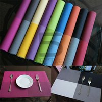 Wholesale Anti slip PVC Insulation Pad Kitchen ECO Friendly Table Mats Continental Food Quality Creative Placemats Heat Resistant