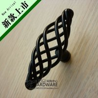 asian furniture cabinet - May BSK hundred style furniture handle cabinet handle mesh birdcage handle Asian black handle GB8013