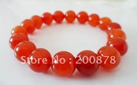 bb beads - BB Tibetan Red Agate Round Beaded wrist bracelets mm girl s gift Natural Stone Beads