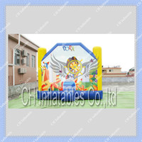 Wholesale Dora the Explorer Inflatable Bouncer Moonwalk m by m Commercial Quality Inflatable Bounce House Free Blower