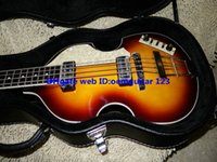 Wholesale New Arrival Vintage Sunburst Violin BASS strings Electric Bass high quality hot