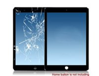 Wholesale For iPad Air mini Touch Screen Digitizer Glass Front Lens Replacement Part for iPad White Black