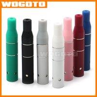 Cheap Ago G5 Wax Tank Dry Herb Atomizer Clearomizer E Cigarette Vaporizer fit Ego EVOD AGO E Cig Battery VS GLASS ATOMIZER DHL Free