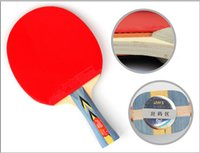 Wholesale DHS salable Products Three Star Good Quality Special offer knife hold Table Tennis Raquets for Recreation