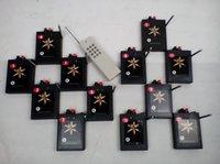315-433HZ 2015 Nuevos Productos interruptor de boda + Fuegos artificiales alambre disply 300m 12 Encendido electrónico de control remoto + antena del sistema de disparo de los fuegos artificiales