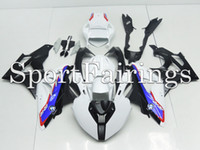 Wholesale S1000RR Race ABS Fairings Injection Plastic For BMW S1000 RR Motorcycle Full Fairing Kit Bodywork White Blue