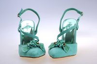 Wedding Pumps Kitten Heel Free Shipping Cheap Hot Sale Faux Suede Green Red High Heel Pointed Shoes Mid heel Wedding Shoes