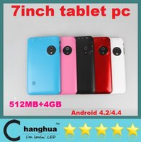 Wholesale NEW Q88 Q8 quot Inch Android A23 tablet PC Dual Camera GB MB Capacitive Tablet big eyes With Bluetooth Big battery tablet pc DHL