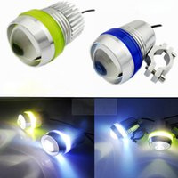 Wholesale Motorcycle V W CREE U3 LED Fog Spot Head Light Waterproof Working Lamp