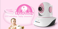 Wholesale new Arrival Vstarcam C7838WIP pink Wireless IP Camera HD IR Network Webcam WIFI CCTV Baby monitor DHL