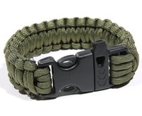 aa saving - the wild life saving act role ofing is tasted Multi function survival bracelet with safety rope Outdoor decoration quality goods AA
