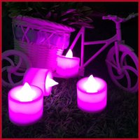 Wholesale Hot Sales Wireless Remote Control Candle LED Light Smokeless Flameless Electronic Flash Multi Colors Light Candle Lamp