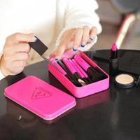 Cheap Make up brush Kit with box de pinceis de maquiagem Korea purchasing genuine stylenanda 3ce brush set makeup brush blush brush