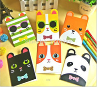 Wholesale New style children Notebook Paper Notepad kidsCrayon painting pattern pocket cartoon notepad