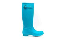 Wholesale Ms glossy Rain Boots Waterproof Women Wellies Boots Woman Rain Boots High Boot Rainboots Hot Sale