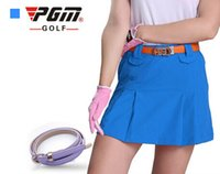 Wholesale 2016 Golf fashion anti emptied solid skirt