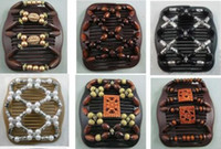 Wholesale Mixed Different Styles Wood wooden Beads Double Magic Fashion Women Hair Clip Comb