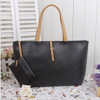 artwork pieces - Women FashionTote Bags Leather Shoulder Bags Pure Color Two Piece Suit One Envelope Wallet Top Zipper Closure Designer Handbags