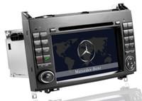 touch screen car audio - Car DVD Head Unit Sat Nav for Mercedes Benz A class W169 B class W245 Viano Vito GPS Navigation Radio Stereo Audio Video Tape Recorder
