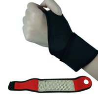 Wholesale New Weight Lifting Wrist Wraps Bandage Hand Support Brace Gym Training Gloves