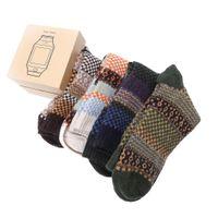 angora dress - Pairs Men s Warm Winter Thick wool mixture ANGORA Cashmere Casual Dress Socks Christmas Gifts For Men