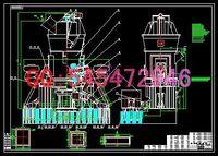 Wholesale HRM1500 vertical mill drawings Full Machining drawings