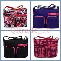 Wholesale 100PCS LJJH1161 Hot Sell Men Women s Travel bag waterproof nylon Rucksack Sport Satchel Backpack School Hiking Bags