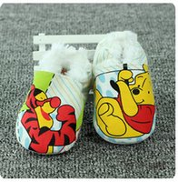 Wholesale Don t drop the elastic band Winter and warm Don t fall years old baby shoes fashion