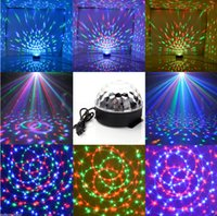 Wholesale DJ Club Disco KTV Party Bar RGB Crystal LED Ball Projector Stage Effect Light