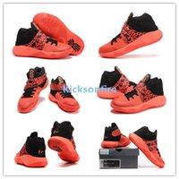 atomic sport - Kyrie Sneaker Men s Sports Basketball Shoes Bright Crimson Atomic Orange Black