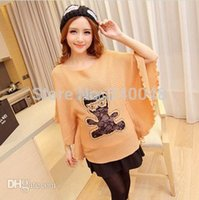 baby cape pattern - maternity winter clothing pregnant women sweater bear pattern long loose batwing sweater pullover cape